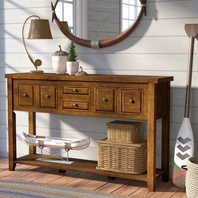 Ordway Console Table Finish: Moroccan Pine