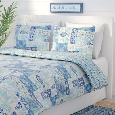 Hopewell 3 Piece Quilt Set Size: Queen