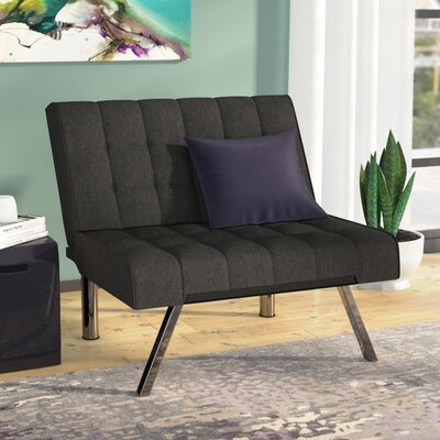 Littrell Convertible Chair Upholstery: Gray