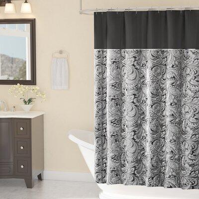 Pokanoket Shower Curtain Color: Blue, Size: 72 H x 72 W