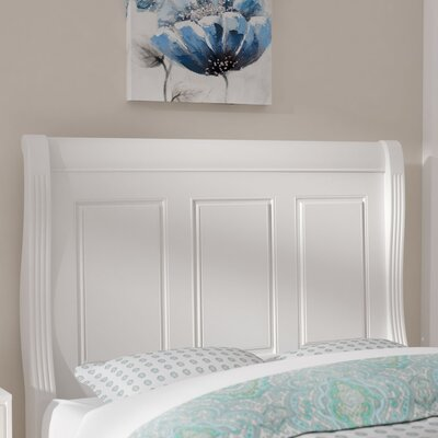 Hewitt Wood Headboard Size: Queen, Finish: Soft White