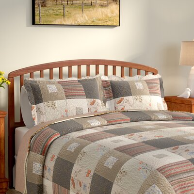 Helma Cotton Reversible Quilt Set Size: Full / Queen