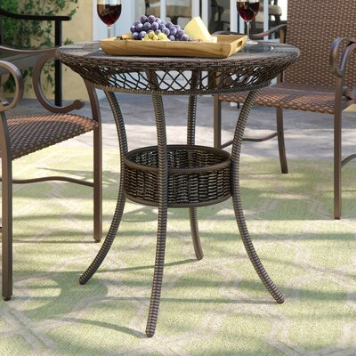 Three Posts Iceland Bistro Table Table Size: 35