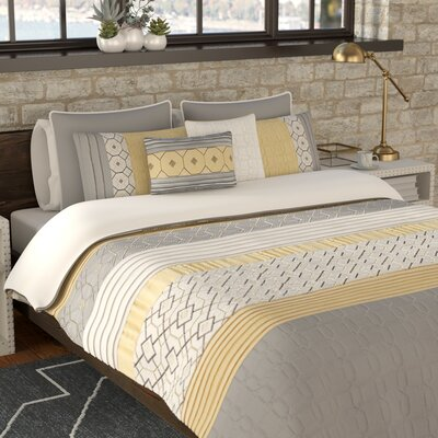 Slattery 7 Piece Comforter Set Size: Full/Queen