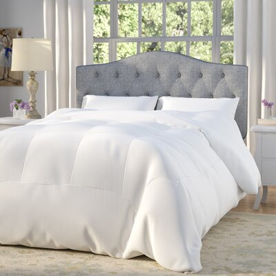 Frankton Down Alternative Ultra Plush Comforter Size: Queen, Color: White