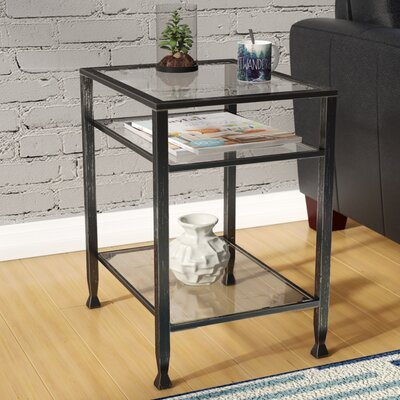 Collingdale End Table Color: Black