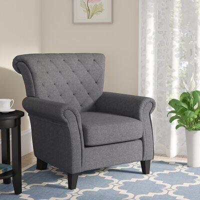 Penbrook Armchair Upholstery: Dark Grey