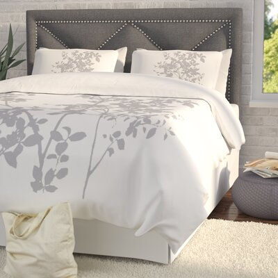 Arrellano Duvet Cover Set Size: Full / Queen, Color: Gray