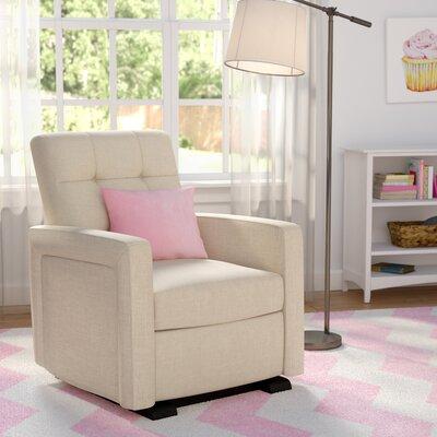 Juana Gliding Recliner Upholstery: Beige