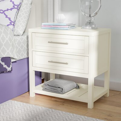 Greater Taree 2 Drawer Nightstand