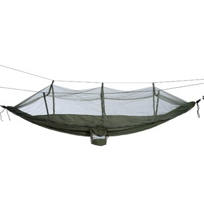 Kira Portable Nylon Camping Hammock Color: Green