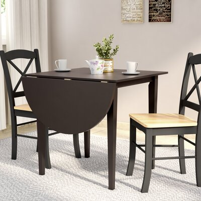 Wisteria Dining Table Finish: Black