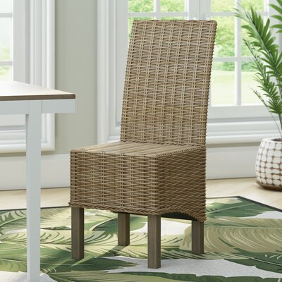 Chelston Side Chair Upholstery: Natural