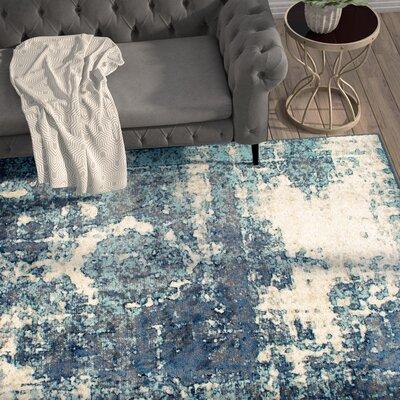 Montross Blue Area Rug Rug Size: Rectangle 511 x 9