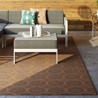 Becker Circle Indoor/Outdoor Rug Rug Size: Rectangle 9 x 12