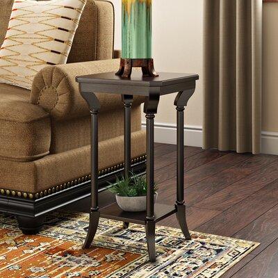 Grand Borendy End Table Color: Black Licorice