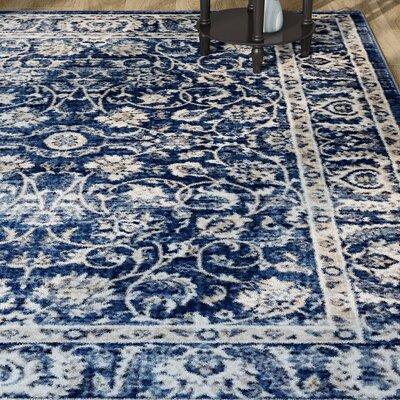 Abramowitz Blue Area Rug Rug Size: 710 x 910
