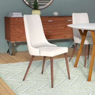 Aldina Side Chair Upholstery: Beige