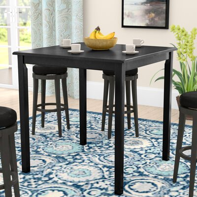 Whitworth Counter Height Dining Table Finish: Black