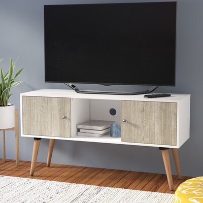 Park View 45 TV Stand Color: White