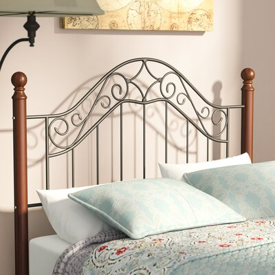 Cleo Open-Frame Headboard Size: Full/Queen