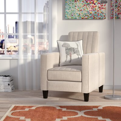 Azucena Manual Recliner Upholstery: Beige