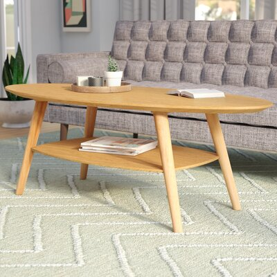 Asherman Coffee Table Color: White Oak