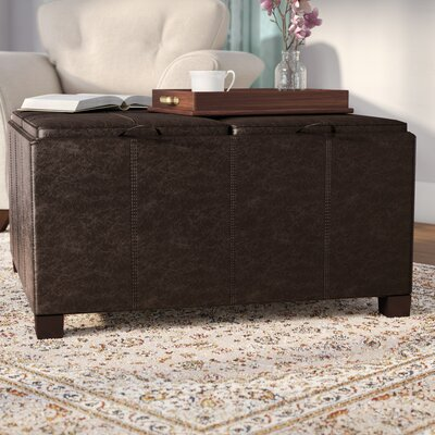 Sutton Cocktail Storage Ottoman