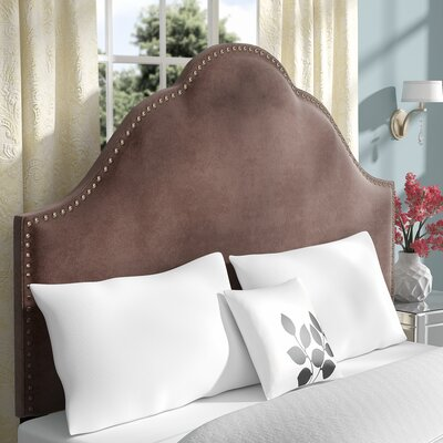 Haylee Upholstered Panel Headboard Size: Queen, Upholstery: Chrome