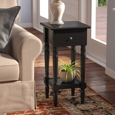 Axtell End Table Finish: Black