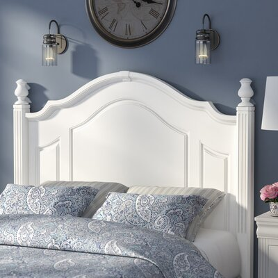 Hewitt Panel Headboard Size: Queen, Color: Soft White