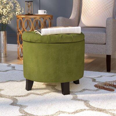 Hargrave Storage Ottoman Upholstery: Fern