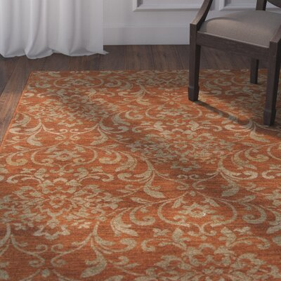 Ventanas Rust Area Rug Rug Size: Rectangle 810 x 129