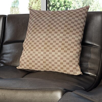 Dalton Throw Pillow Size: 20 H x 20 W, Color: Classic Grey