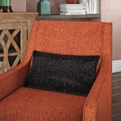 Zenon Lumbar Pillow Color: Black