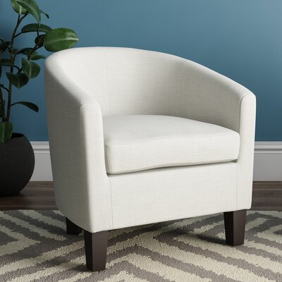 Filton Barrel Chair Upholstery: Linen
