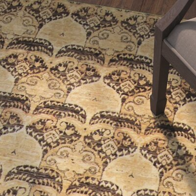 One-of-a-Kind Montague�Hand-Knotted Brown Area Rug