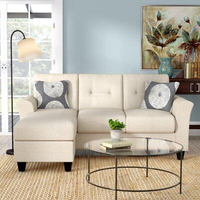Desales Sectional Upholstery: Oscar Linen