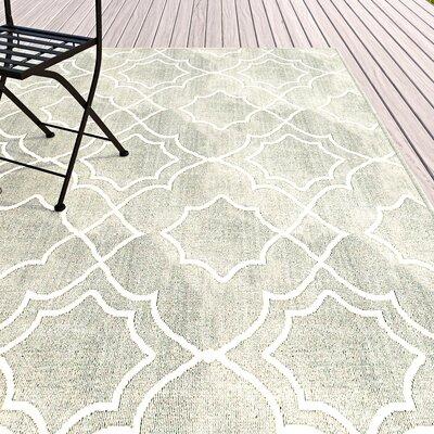 Amato Green Indoor/Outdoor Area Rug Rug Size: Rectangle 76 x 109