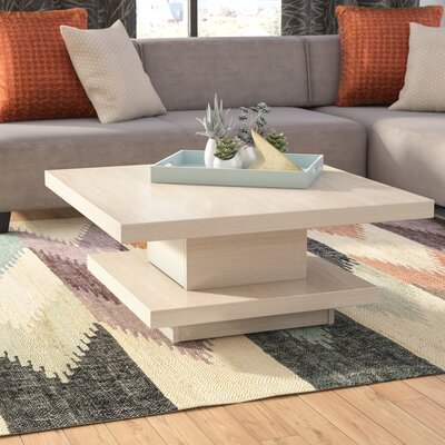 Laroche Coffee Table Color: Ivory