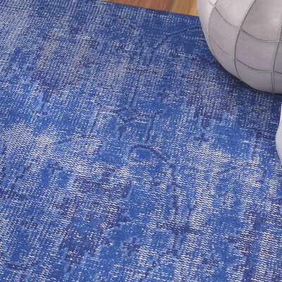 Tonya Blue Area Rug Rug Size: Rectangle 9 x 12