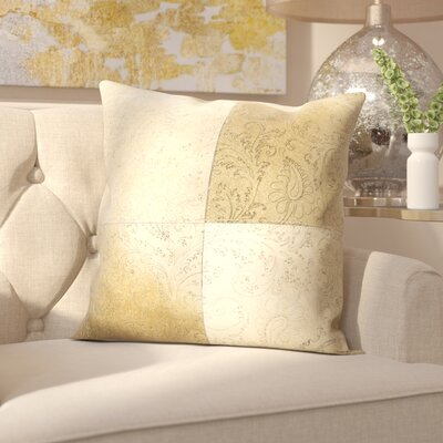 Gautreau Throw Pillow Color: Beige
