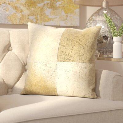 Gautreau Throw Pillow Color: Beige