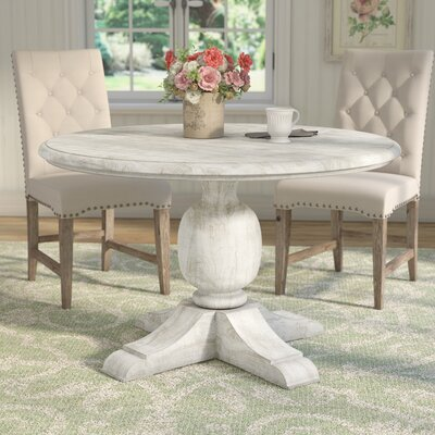 Valencia Dining Table Size: 30 H x 60 W x 60 D