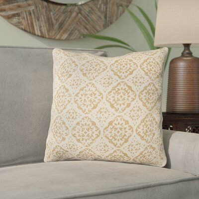Kody Throw Pillow Size: 18 H x 18 W x 4 D, Color: Beige / Camel