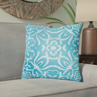 Libchava Indoor Throw Pillow Size: 18 H x 18 W x 4 D, Color: Blue