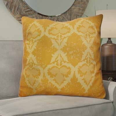 Soluri Geometric Euro Pillow Color: Gold