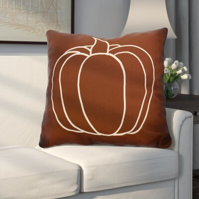 Miller Pumpkin Pie Geometric Euro Pillow Color: Brown