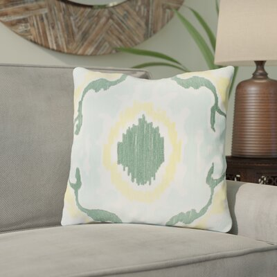 Ayaan 100% Cotton Throw Pillow Size: 18 H x 18 W x 3.5 D, Color: Mint