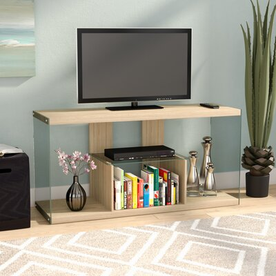 Calorafield 50 TV Stand Color: Weathered White